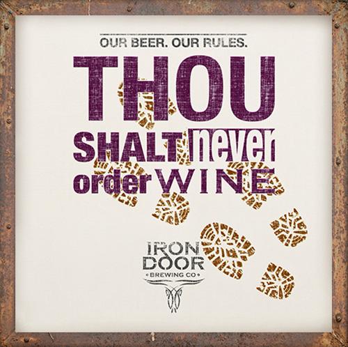Never order wine